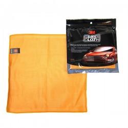 Lap Pembersih Kaca Mobil yang Bagus dan Terbaik 3M Glass Cloth tidak Perlu Bantuan Chemical lainnya di Jual dg Harga Murah