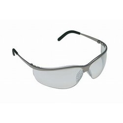 3M Metaliks Sport Protective Eyewear INDOOR/OUTDOOR Mirror Lens, Nickel Frame