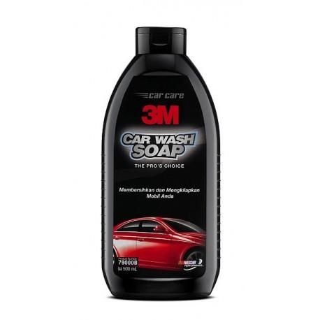 3M Car Wash Soap Bottle (Shampo Mobil 3M) size: 500 ml.