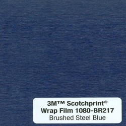 3M Car Wrap Film 1080 – BR217 Brushed Steel Blue