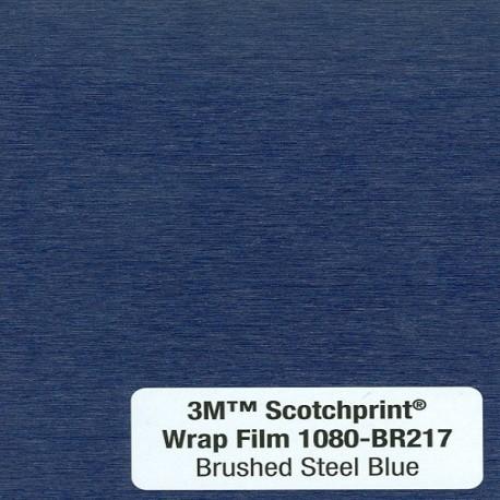 3M Car Wrap Film 1080 – BR217 Brushed Steel Blue