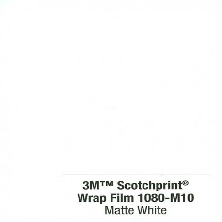 3M Car Wrap Film 1080 – M10 Matte White