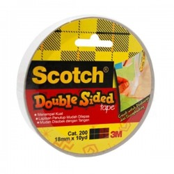 Scotch Double Tape Cat 200 - 12mmx10Y