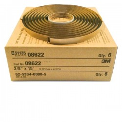 3M 8622 Window-Weld Round Ribbon Sealer size: 3/8 in X 15 ft roll. (Sealant)