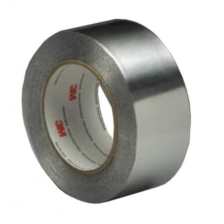 3M Aluminum Foil Tape 425 Silver USA, 1 in x 60 yd