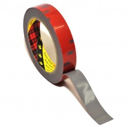 3M AFT Acrylic Foam Tape 5666 tebal (1.1 mm) size (24mm x 4.5m) - Jual Double Tape Mobil Merk 3M Asli dg Harga Murah