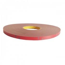 3M AFT Acrylic Foam Tape 5666 tebal (1.1 mm) size (12mm x 33m) - Jual Double Tape Mobil Terbaik Paling Kuat dg Harga Murah