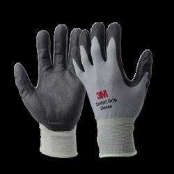 3M Comfort Grip Gloves - Sarung Tangan Safety Bahan Kain Katun Cotton Rajut Jual Harga Murah