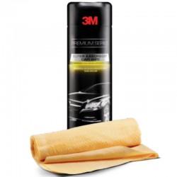 3M Premium Car Wipe (Chamois) - Mengeringkan Kendaraan Setelah Pencucian dan Mengangkat Kotoran Ketika Membersihkan