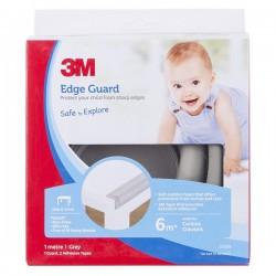 3M SC-221 Child Edge Guard Grey 1M - Pelindung Anak dr Cedera Akibat Benturan Tepi, Pinggir, Ujung Meja Tajam di Jual Murah