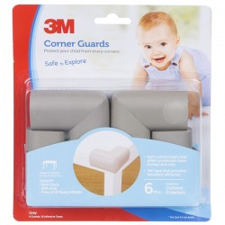3M SC-32 Child Corner Guard Grey 6/CV - Pelindung Anak dr Cedera Akibat Benturan Tepi Siku Meja dll yg Tajam Jual Murah
