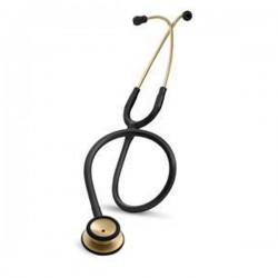 3M™ Littmann® Classic II S.E. Stethoscope, Brass-Finish Chestpiece, Black Tube, 28 inch, 2201BRS (Stetoskop)