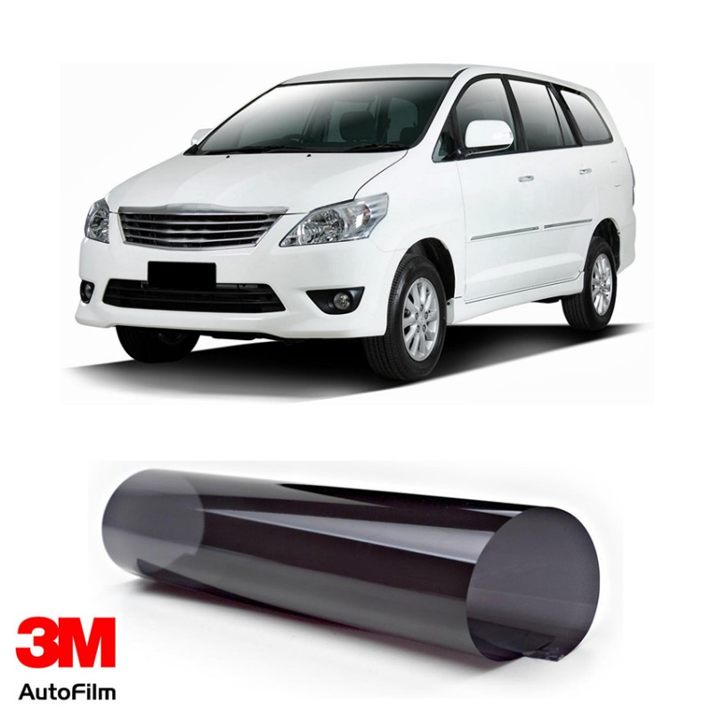3m Auto Film Kaca Film Mobil Paket Medium Eco Black U Toyota