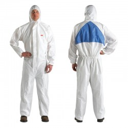 3M Protective Coverall 4510 size M type 5/6 - 20 each/case - Mantel Baju Perlengkapan Safety