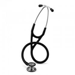 3M Littmann Cardiology IV Stethoscope, Brass-Finish Chestpiece, Black Tube, 27inch, 2175 Stetoskop