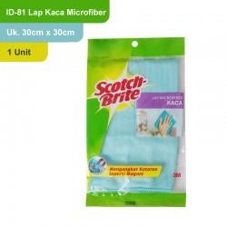 Lap Kaca Microfiber (eceran) 30 cm X 30 xm