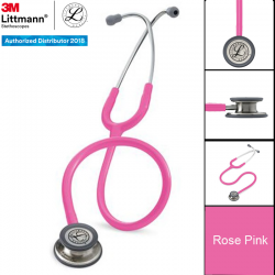 3M™ Littmann® Classic III™ Stethoscope, Rose Pink Tube, 27 inch, 5639 (Stetoskop) dg Harga Murah