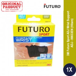 FUTURO(R) SPORT ADJ WRIST SUPPORT, ADJ (09033EN) - Jual Decker Tangan u/ Melindungi Pergelangan Tangan Yang Cedera (sakit)