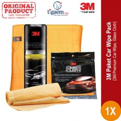 Jual 3M Paket Car Wipe Pack - Lap [Premium Car Wipe & Glass Cloth] Lap Mobil & Lap Kaca - di dg Harga Murah