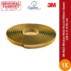 3M 8622 Window-Weld Round Ribbon Sealer size (3/8 in X 15 ft) roll - Sealant u/ Body (Lampu, Kaca) Mobil Jual dg Harga Murah