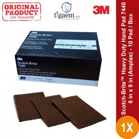 Scotch-Brite™ Heavy Duty Hand Pad 7440, 6 in x 9 in