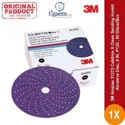 3M Amplas 31372 Cubitron II Clean Sanding Hookit Abrasive Disc, 6 IN, 120+, 50 Discs/Box - Di Jual dg Harga Murah
