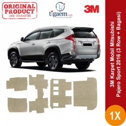3M Car Mat ( Karpet Mobil ) - Karpet Dasar yang Bagus u/ Tipe Mobil 3 Row SUV dg Kualitas Terbaik