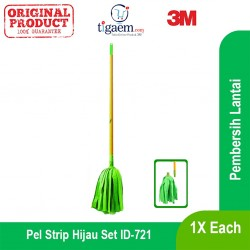 3M Scotch Brite Pel Strip Hijau Set (eceran) (ID-721)