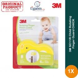 3M SC-11R Child Rotating Finger Guard CHICK - Harga Termurah u/ Melindungi Anak (bayi) dari Bahaya Terjepit Pintu