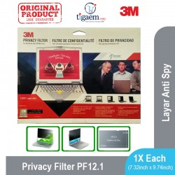 "3M PF 12.1 Laptop Privacy Filter Screen - fits 12.1"" Screen (Filter Anti Spy Laptop)"