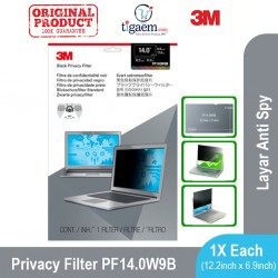 3M PF14.0W9B Privacy Filter Screen (Filter Anti Spy Notebook/Laptop)