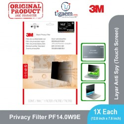 3M PF14.0W9E Privacy Filter Touch Screen (Filter Anti Spy Notebook/Laptop)