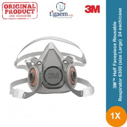 3M™ Half Facepiece Reusable Respirator 6200