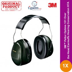 3M™ Peltor Optime 101 Over the Head Earmuffs, Hearing Conservation H7A- Harga Murah Pelindung Pendengaran u/ kebisingan