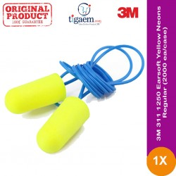 3M 391-1004 Earsoft Yellow Neons One-Touch 2000 Ea/Case - Pelindung Suara Keras