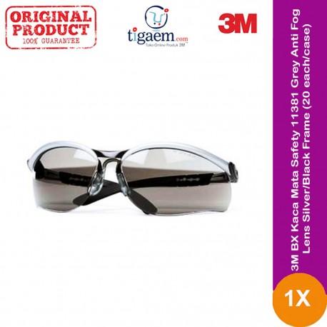 3M™ Safety Impact Goggle 332AF, 40651-00000-10 Clear Anti Fog Lens 10 ea/case
