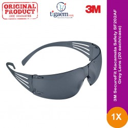 3M SecureFit™ Kacamata Safety SF202AF Grey Lens - 20 each/case - Pelindung Mata