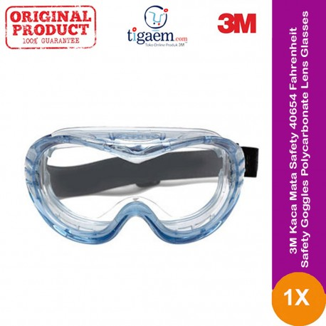3M™ Safety Impact Goggle 332AF, 40651-00000-10 Clear Anti Fog Lens 10 ea/case