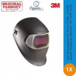 3M Speedglas Black Welding Helmet 100 with Auto-Darkening Filter 100V - Helm Safety Merk Terbaik Jual Harga Murah