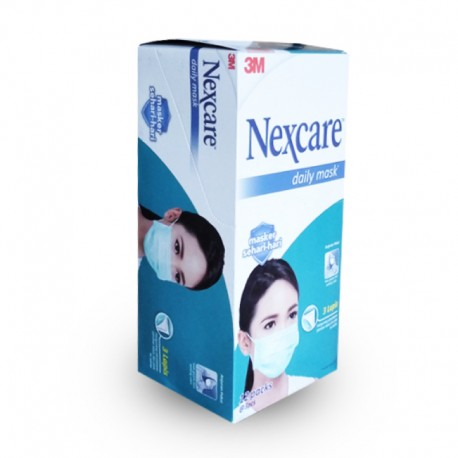 3M Nexcare Earloop Mask (Masker), 36 pieces in a box