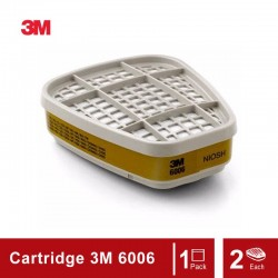 3M™ Multi Acid Gas/Organic Vapor Cartridge 6006, Respiratory Protection