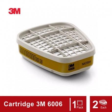 3M™ Multi Acid Gas/Organic Vapor Cartridge 6006, Respiratory Protection
