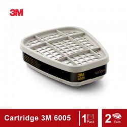 3M Formaldehyde/Organic Vapor Cartridge 6005, Respiratory Protection