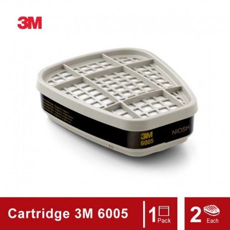 3M Formaldehyde/Organic Vapor Cartridge 6005, Respiratory Protection