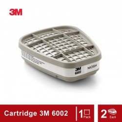 3M Acid Gas Cartridge 6002, Respiratory Protection