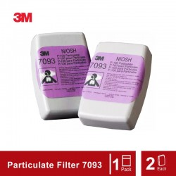 3M P100 Particulate Filter 7093 - 2 Each/Set
