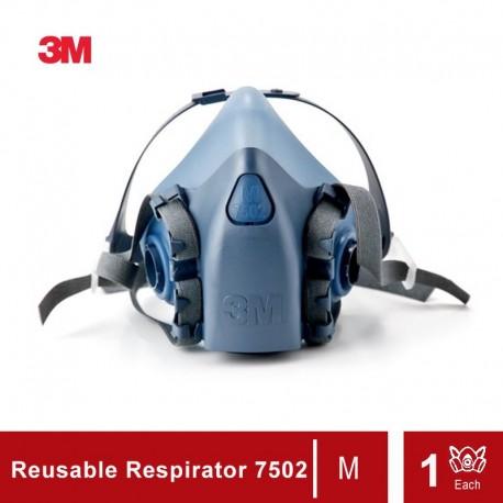 3M Half Facepiece Reusable Respirator 7502