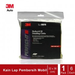 3M 6016 Perfect-It III Auto Detailing Cloth (Lap Mobil 3M)
