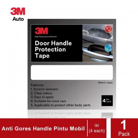 3M Door Handle Protection Tape - 4 Each/Set - Pelindung Handle Pintu Mobil dari Lecet