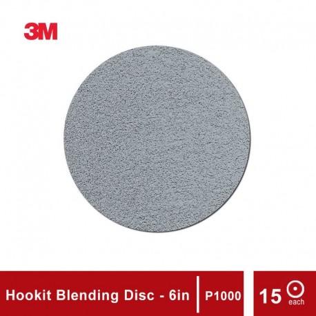 3M 2090 Trizact Hookit Blending Disc P1000